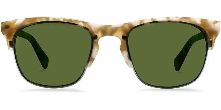 Warby Parker Sunglasses - Ellison In Marbled Sandstone Sun
