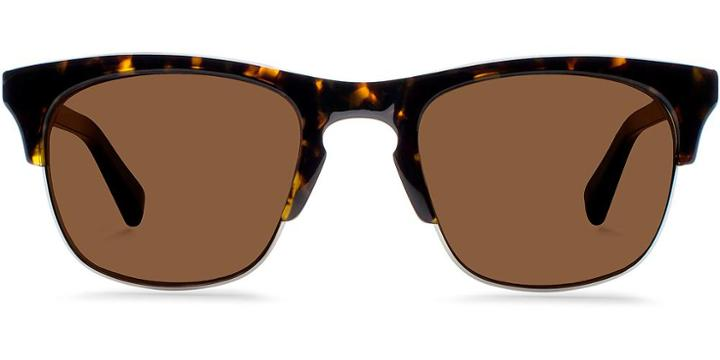 Warby Parker Sunglasses - Ellison In Whiskey Tortoise Sun