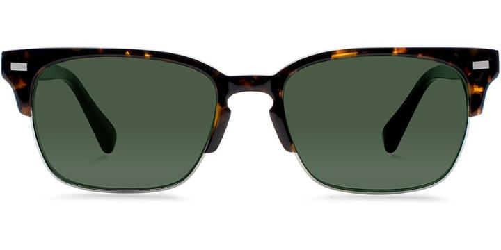 Warby Parker Sunglasses - Ames In Whiskey Tortoise Sun