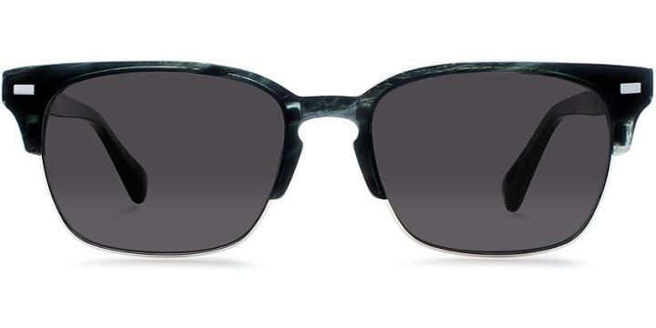 Warby Parker Sunglasses - Ames In Graphite Fog Sun