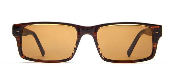 Warby Parker Sunglasses - Felton In Striped Maple