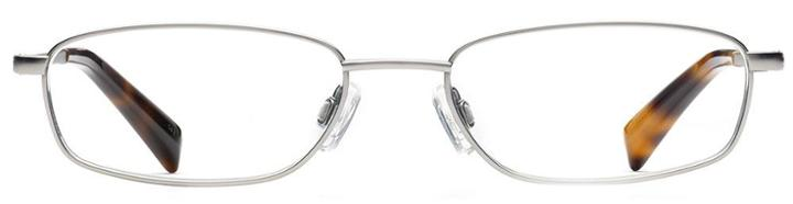 Warby Parker Eyeglasses - Raleigh In Jet Silver
