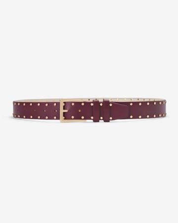 White House Black Market Women's Studded Belt
