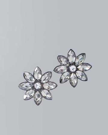 White House Black Market Women's Flower Stud Earrings