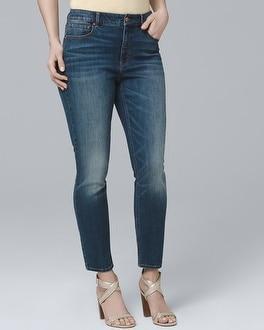 White House Black Market Curvy High-rise Skinny Crop Jeans