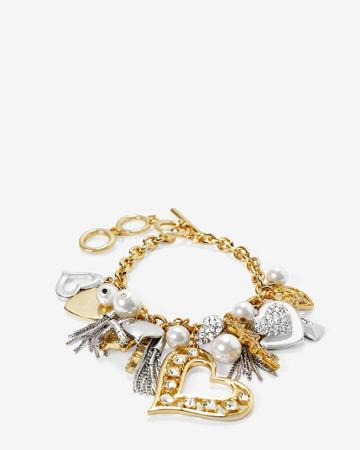 White House Black Market Women's Love Charm Bracelet