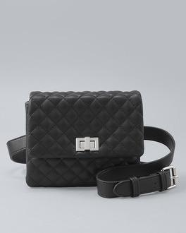White House Black Market Mali + Lili Quilted Belt Bag