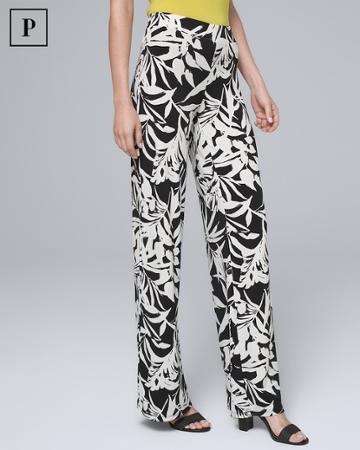 White House Black Market Women's Petite Jersey Knit Pants