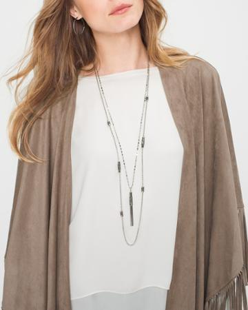White House Black Market Women's Convertible Pendant Necklace