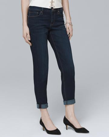 White House Black Market Women's Girlfriend Jeans