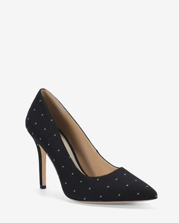 White House Black Market Women's Dotted Pumps