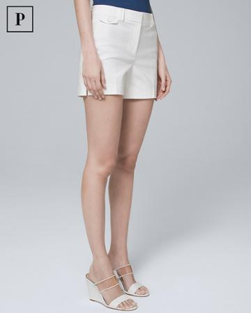 White House Black Market Women's Petite 4 1/2-inch Smooth Stretch Shorts