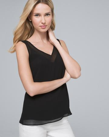 White House Black Market Women's Convertible Camisole