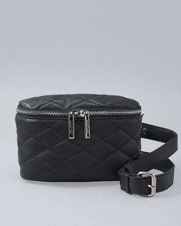 White House Black Market Mali + Lili Quilted Zip-around Belt Bag