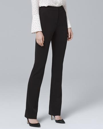 White House Black Market Women's Stretch Knit Pants