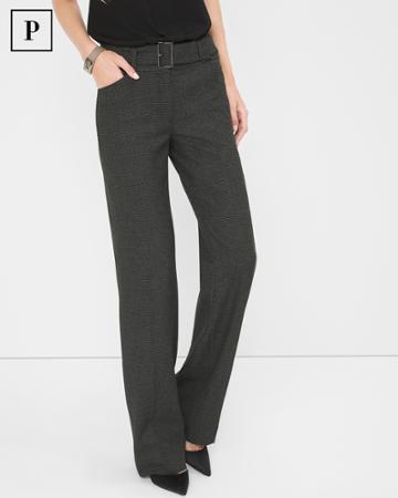 White House Black Market Women's Petite Slim Bootcut Pants