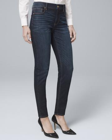 White House Black Market Women's High-rise Sculpt Fit Slim Jeans