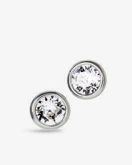 White House Black Market Stud Earrings With Crystals From Swarovski