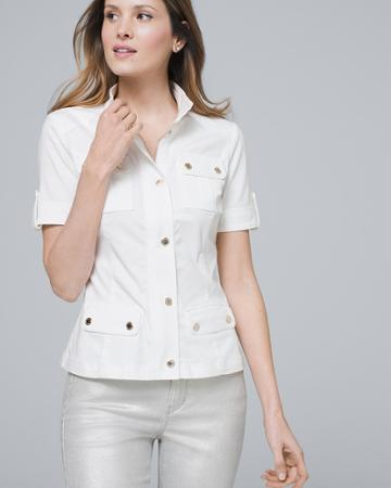 White House Black Market Women's Utility Jacket