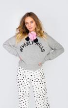 Wildfox Couture Glitz Sport Gainsborough Cashmere Sweater