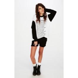 Wildfox Couture Love La Roadtrip Sweater Dress
