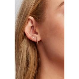 Wildfox Couture Leenabell 14k Yellow Long Bar Earrings