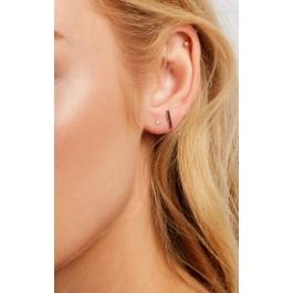 Wildfox Couture Leenabell 14k Rose Barely There Stud Single Earring