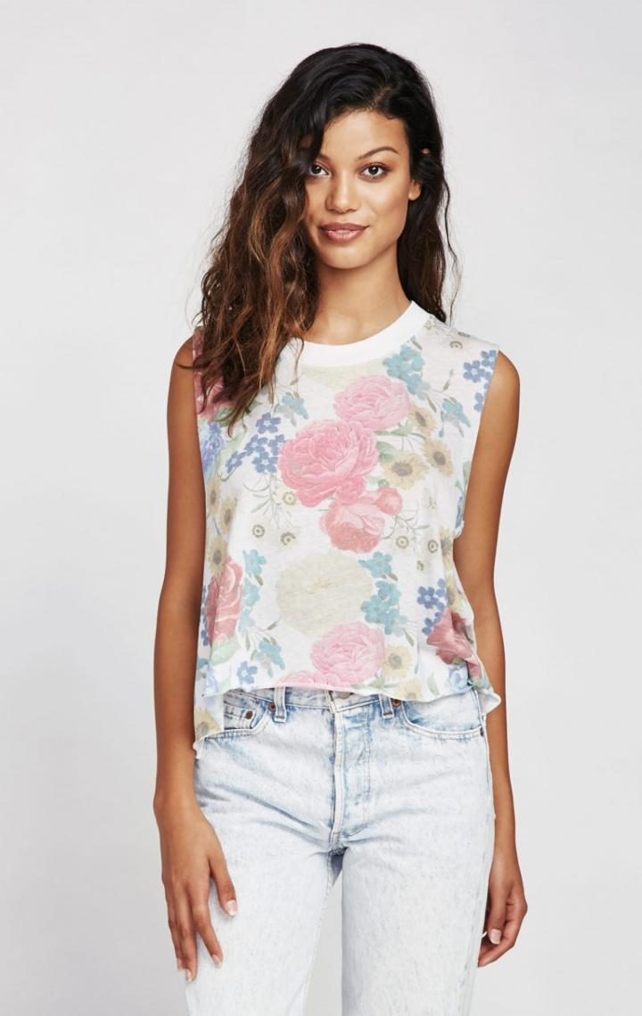Wildfox Couture Summer Bouquet Chad Tank