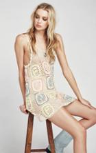 Wildfox Couture Fun Granny Sabrina Crochet Dress