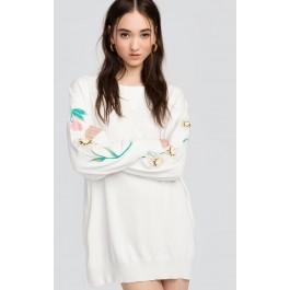 Wildfox Couture Beverly Hills Butterflies Glen Sweater