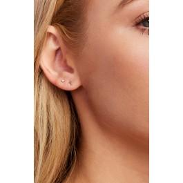 Wildfox Couture Leenabell 14k Yellow Cross Single Earring
