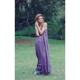 Wildfox Couture Purple Floral Hampton Dress
