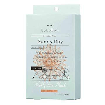Lululun Plus Sunnyday Mask 5 Sheets