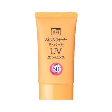 Shiseido Senka Mineral Water Made From Uv Essence 50g Spf50+ Pa++++