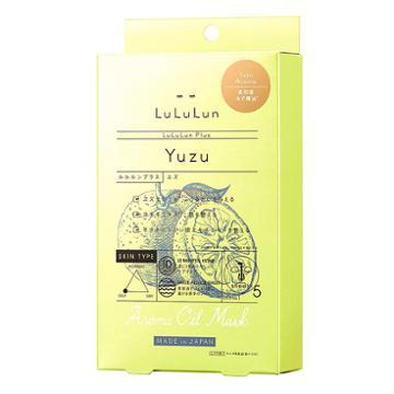 Lululun Aroma Oil Mask Yuzu 5 Sheets
