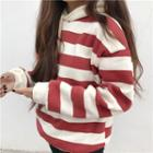 Loose-fit Striped Hoodie