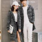 Couple Matching Hooded Long Cardigan