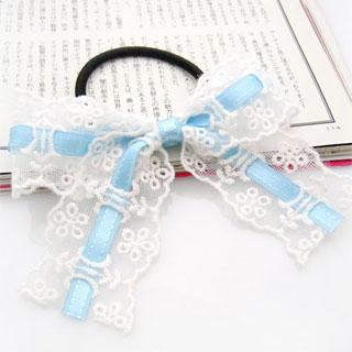 Ribbon Lace Hair B& - Light Blue