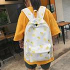 All Over Print Canvas Backpack