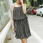Striped Strappy Dress