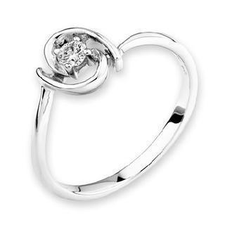 18k/750 White Gold Diamond Women Ring