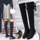Bow Over The Knee Boots