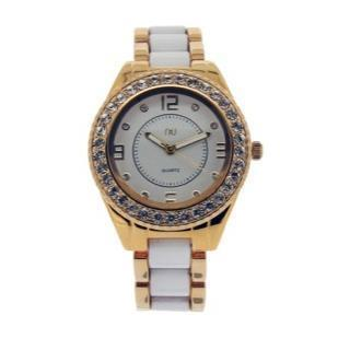 Crystal Covered Wrist Watch