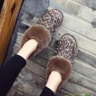 Sequined Ankle Snow Boots