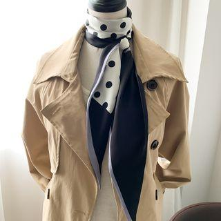 Paneled Dotted Scarf