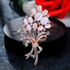 Embellished Bouquet Brooch