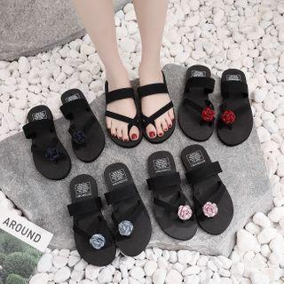 Rose Flip-flops