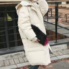 Hooded Long Duck-down Puffer Coat