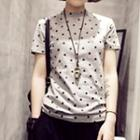 Polka Dot Short Sleeve T-shirt