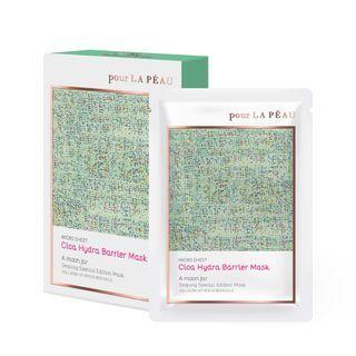Pour La Peau - Cica Hydra Barrier Mask Set Seojung Edition 25g X 10 Sheets